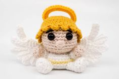 Amigurumi Engel häkeln | Supergurumi Dragon En Crochet, Crochet Dragon Pattern, Crochet Bookmark Pattern, Crochet Bookmarks, Crochet Doll Pattern, Crochet Panda, Crochet Mouse, Dog Crochet, Amigurumi Giraffe