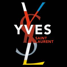 YVES St Laurent Coffee Table Book