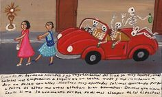Retablos — It was very late at night when my sister Lourdes...