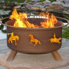 Western Design Outdoor Fire Pit - F104