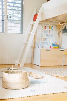 Chloe Brookman kids room l Olli Ella co-founder opens her home l Click for more photos of her kids room #stylecuratorau Image by Cinnamon Lane