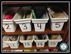Classroom Organization Ideas and a Birthday Giveaway