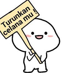 Cute Cartoon Images, Cute Cartoon Drawings, Cute Love Cartoons, Cartoon Jokes, Cute Jokes, Cute Love Memes, Cute Love Gif, Cute Laptop Stickers, Funny Stickers