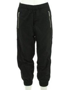 Michael Kors Baggy Casual Pant Black 12P Michael Kors. $56.88