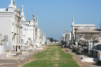 See a New Orleans cemetery - St. Louis #1 is close to the Quarter