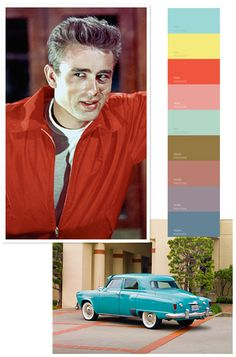The Most Memorable Colors of the 20th Century  Teen Angels, 1950s  Ohmagawd, I LOVE this palate...