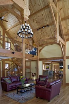 2 story room with loft area...gotta have this!!!