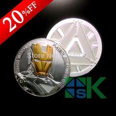 Marvel hero Avengers Iron Man coin