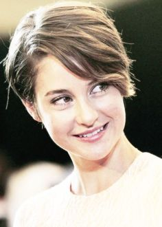 shailene woodley brunette | Shailene Woodley Short Hair Style / Via. #tfios
