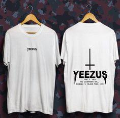 c3f4e0c22504f Yeezus tour tshirt life of pablo kanye west shirt