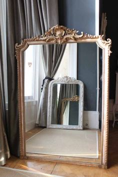 Large Over Mantle Mirror Click For Image
