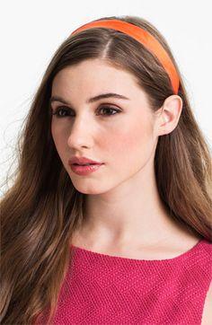L. Erickson Satin Ribbon Headband | Nordstrom