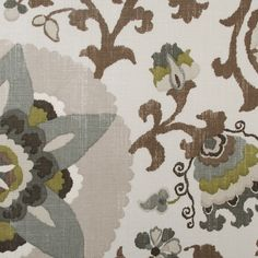 #Floral #Fabric #Meadow from Duralee 42150 Fabric via Fabric Living. Find us Online at http://www.fabricliving.com