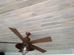 White washing pine tounge and groove for ceiling redo