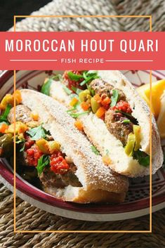 When people think of Moroccan food this fish sandwich is not something that comes to mind. It's why we so enjoy stopping at a local shop that sells these grilled sardine sandwiches during our food tour. Make these Hout Quari Sandwiches at home with this r Moroccan Fish Recipe, Moroccan Recipes, Ethnic Recipes, Sardine Recipes, Fish Recipes, Fish Sandwich, Middle Eastern Recipes, Recipe Images, Different Recipes