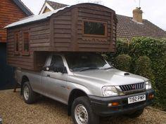 Matt's homemade truck camper