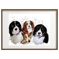 "didArt Studio on Instagram: ""There are just amazing 🥰 #inkartwork #inkpainting #custompaint #customart #dogpaiting #paintdog #iloveart #doglovers"" Ink Painting, Just Amazing, Custom Art, Your Pet, Dog Lovers, Studio, Pets, Instagram, Studios"