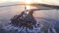 Some cities would enjoy claiming rights to a single lighthouse. Santa Cruz enjoys two beautiful structures and though the Walton Lighthouse is less known t
