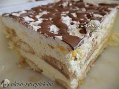 foghatunk is neki a Hungarian Desserts, Hungarian Cake, Hungarian Cuisine, Hungarian Recipes, Hungarian Food, Best Food Ever, Dessert Bars, No Bake Desserts, Cake Cookies