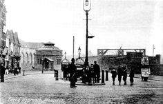 Postcard view of Ferry Approach at Woolwich in late 1900's (The foot tunnel did not open until Oct. 1912.) Photo: Clare Crawford.