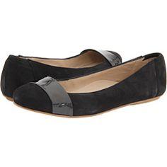 SO cute. #shoes #flats #black #grey