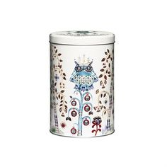 Taika tin box from Iittala is a beautiful storage that suits as well in the kitchen as in the bathroom or kids room. The imaginative Taika pattern is designed by Klaus Haapaniemi and is of Iittalas modern classics. In Finnish