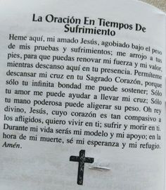 Faith Prayer, God Prayer, Prayer Quotes, Faith In God, Catholic Prayers In Spanish, Prayer For Family, Miracle Prayer, Special Prayers, Morning Prayers