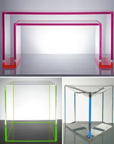 If you think the image above is a set piece from the movie Tron, think again. This acrylic desk is one of many stunning pieces offered by designer Alexandra Von Furstenberg. Once married to the son of designer Diane Von Furstenberg, Alexandra has made a name for herself by creating a series of colorful acrylic…