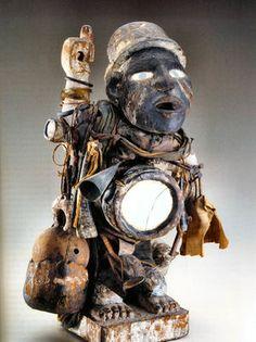 Hoodoo Magick Rootwork:  Voodoo statue.