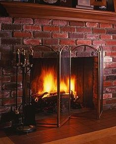 How to Clean Bricks on a Fireplace -If your brick is faded, before or after cleaning, you can give it a face lift. Mix 50% boiled linseed oil with 50% mineral spirits. Apply with an old rag, let it soak 5 minutes, and wipe off the excess with a clean towel.