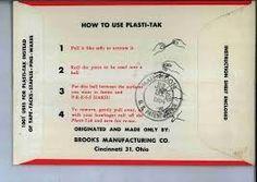 Instructions for Plasti-tak.
