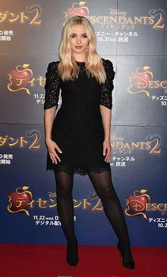 Dove Cameron attends the Tokyo premiere of 'Descendants 2'