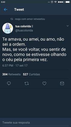 Fato Thoughts And Feelings, Deep Thoughts, Monólogo Interior, Some Sentences, Text Memes, Hard To Love, E 10, Deep Words, Ms Gs