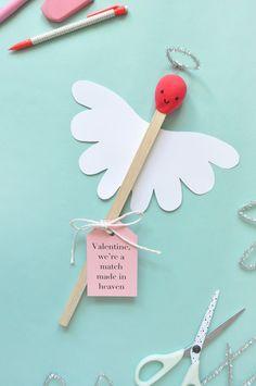 Giant Matchstick Valentine, via @followcharlotte