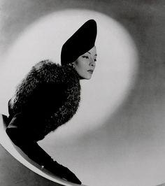 Horst P Horst 'Schiaparelli Beret, Helen Bennett' 1937