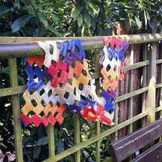 Gratis-Strickanleitung: Kleine Rechtecke-Schal (knitting-and-so-on.blogspot.com)