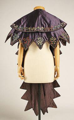 Pelerine (image 3) | British | 1830 | silk | Metropolitan Museum of Art | Accession Number: 1995.177.1