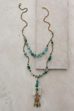 Collier pendentif Verdure - anthropologie.com