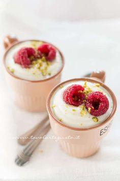 Mousse al cioccolato bianco - Ricetta Mousse al cioccolato