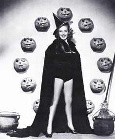 Vintage Halloween Pin Ups are our favorite Pin-Ups!