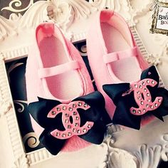 Oh my goodness!! Baby Chanel ♥ If I have another little girl I want these!