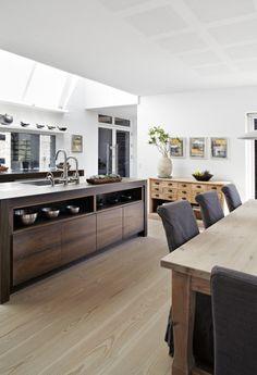 open / wood / light // kitchen design