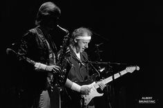 Dire Straits Concert Zwolle Holland 1th of June 1983 , Mark Knopfler