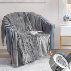 So, now you don't have to worry about winter any more as heated blanket is here to provide you the desired comfort and makes you feel good Heated Blanket, Winter House, Good Sleep, Bed Covers, Comfort Zone, Your Best Friend, Home Kitchens, Accent Chairs, How Are You Feeling