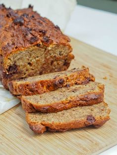 One bowl #vegan and #gluten-free banana #Bread - light, moist with just a hint of sweetness and chocolately flavor