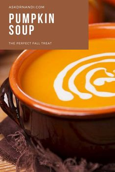Fall means a lot of soup recipes make their way onto the meal plan. This fall inspired pumpkin soup recipe is great for lunch and dinner. Try this soup recipe here.