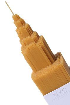 Alex Creamer, un estudiante de la Universidad Central de Lancashire en Inglaterra, ha diseñado este packaging para NYC Spaghetti.