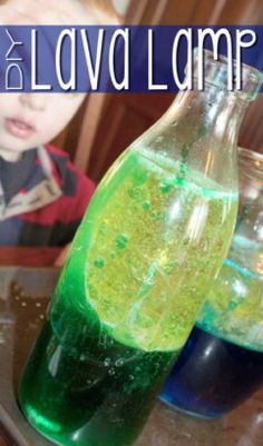 Fun Kid's Project: How To Make A Lava Lamp...http://homestead-and-survival.com/fun-kids-project-how-to-make-a-lava-lamp/