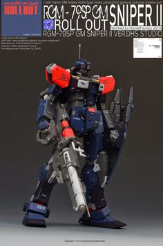 1/100 RGM-79SPII GM Sniper II VER.DHS - Custom Build - Gundam Kits Collection…