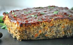 Lentil Veggie Loaf [Vegan, Gluten-Free]   One Green Planet